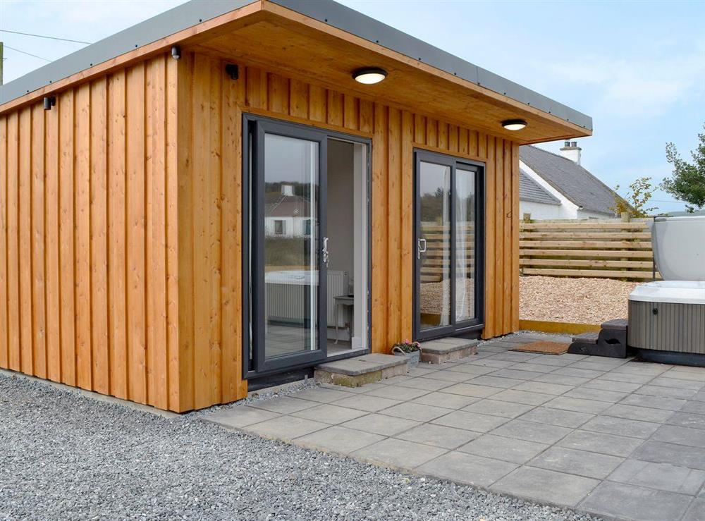 Individually designed, chalet-style accommodation at Jacks Hideaway,