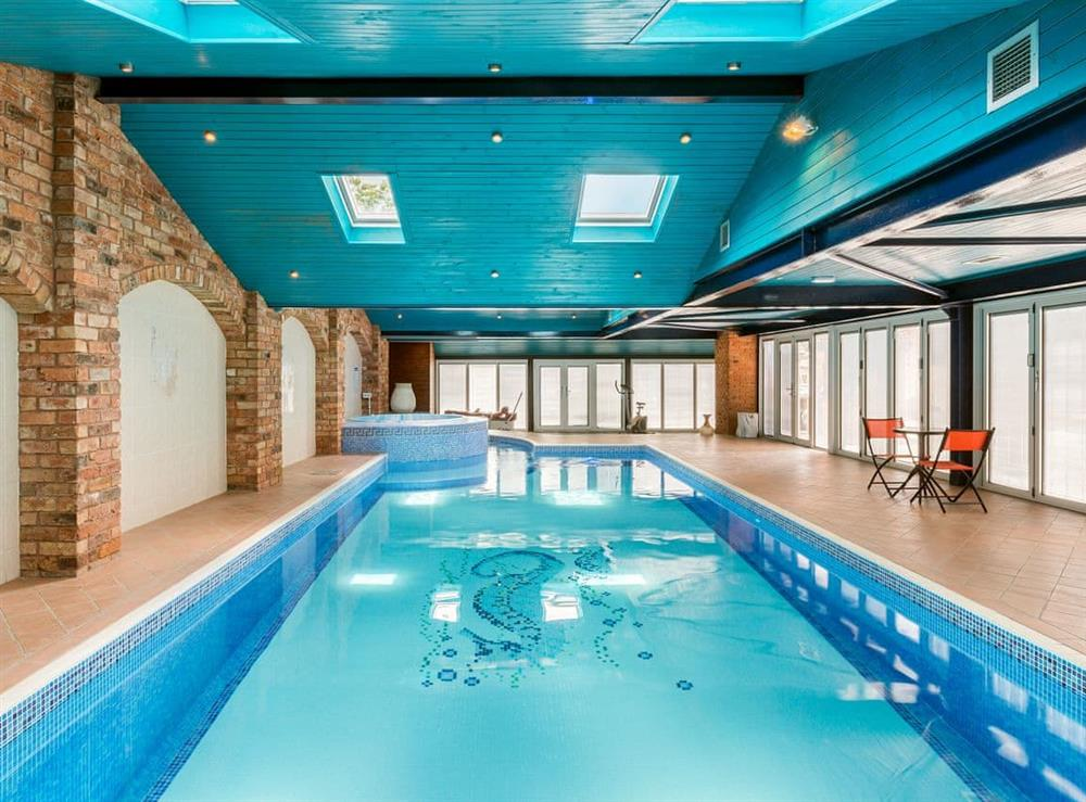 Swimming pool at Ducks Nest in Deerhurst Walton,  Gloucester, England