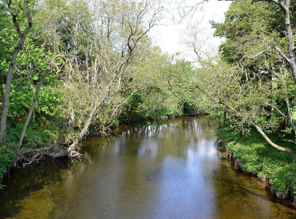 Nearby river (photo 2) at Dunlappie Lodge in Edzell, near Brechin, Angus