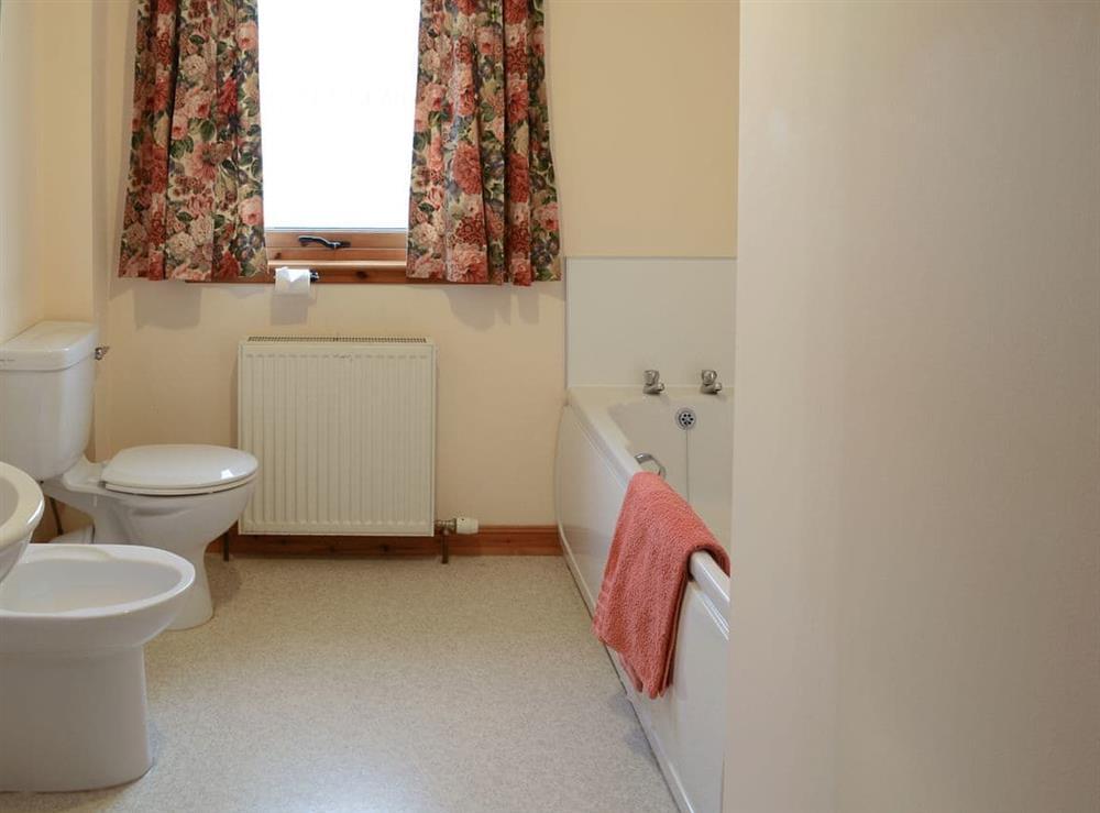 Bathroom at Dunrobin in Lairg, near Sutherland, Highlands, Scotland