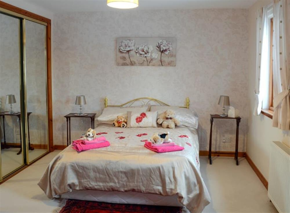 Comfortable double bedroom at Dunrobin in Lairg, near Sutherland, Highlands, Scotland