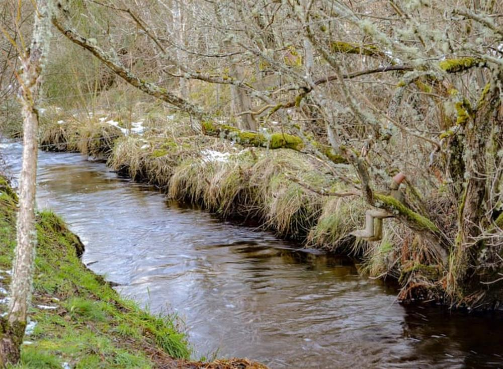 Lovely Highland river at the bottom of the garden (photo 2) at Dunrobin in Lairg, near Sutherland, Highlands, Scotland