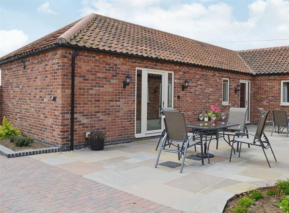 Brick built rural cottage in rural Lincolnshire at The Old Dairy,