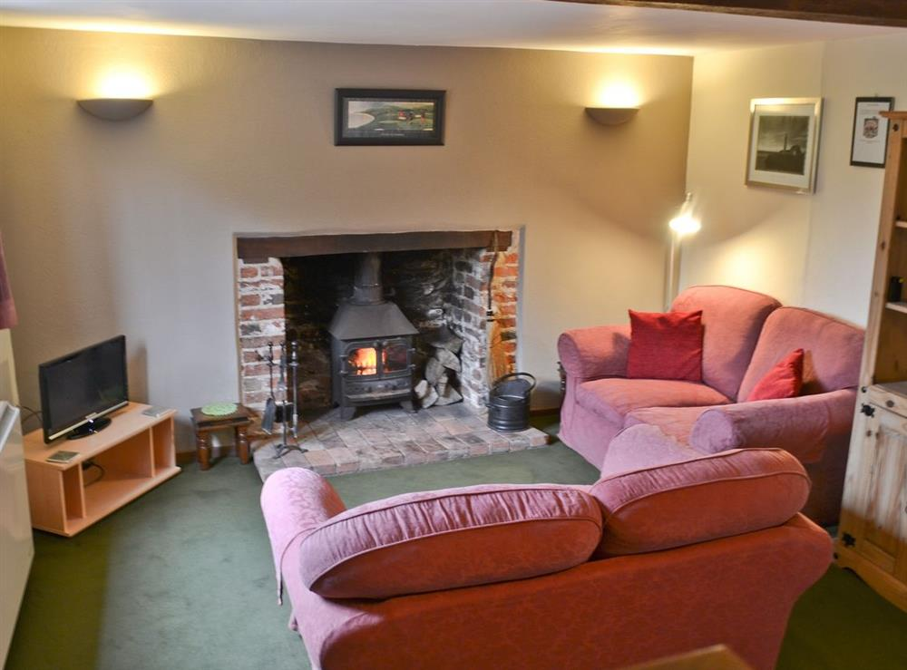 Living room at Middle Cottage,