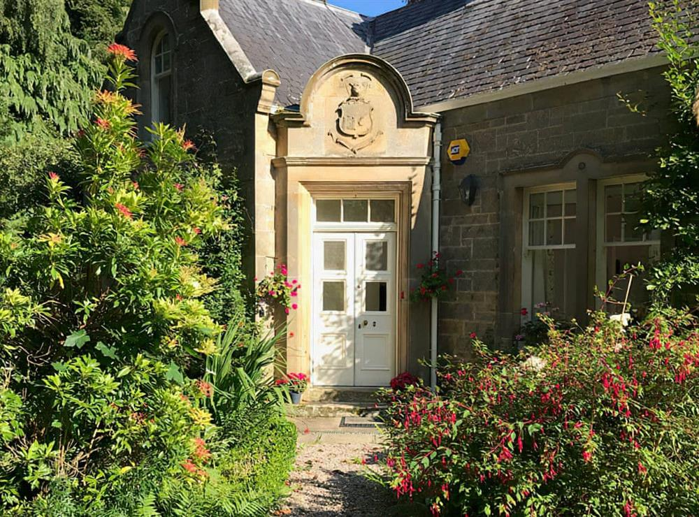 Exterior at East Lodge in Forres, near Nairn, Morayshire