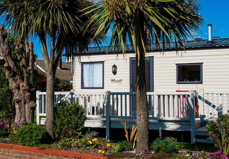 Accommodation on the Eastern Beach Caravan Park at Eastern Beach Caravan Park in Caister-on-Sea, Norfolk