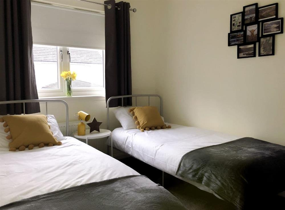 Twin bedroom at Eastwood House in Inverness, Inverness-Shire