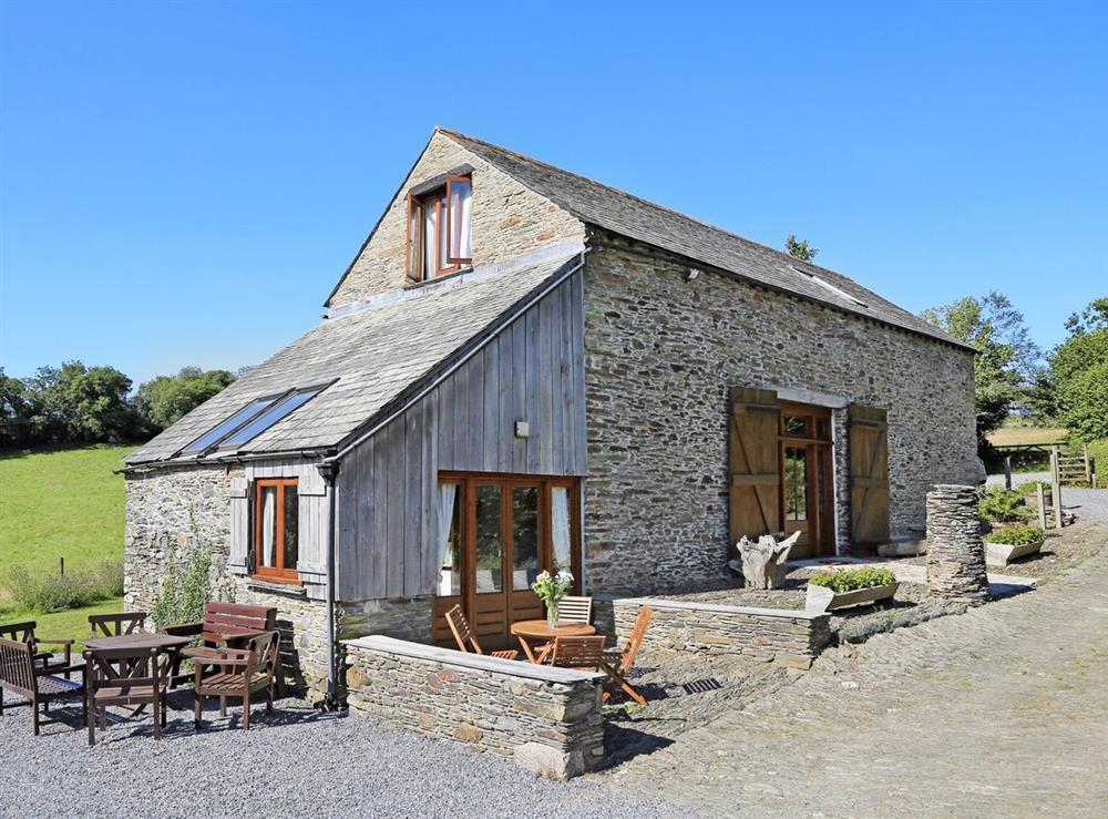 Edgecombe Barn at Edgecombe Barn in Bow Creek, Nr Totnes, South Devon., Great Britain