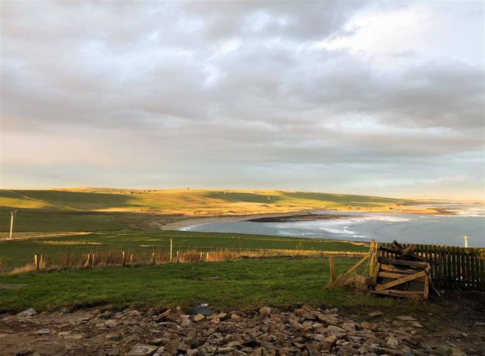 Breathtaking far reaching views at Egypt in near St Margaret's Hope, Isle Of Orkney