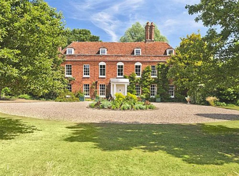 Exterior at Eldred House in Layer-de-la-Haye, near Colchester, Essex