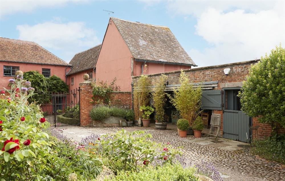 Elinor Fettiplace, in the grounds of Elizabethan Pauntley Court, is perfect for couples on a romantic escape
