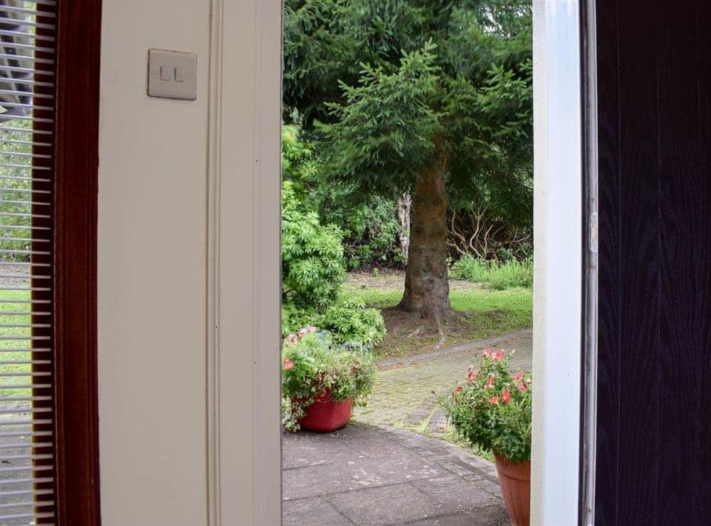 Hallway at Elm Cottage in Falkirk, Stirlingshire