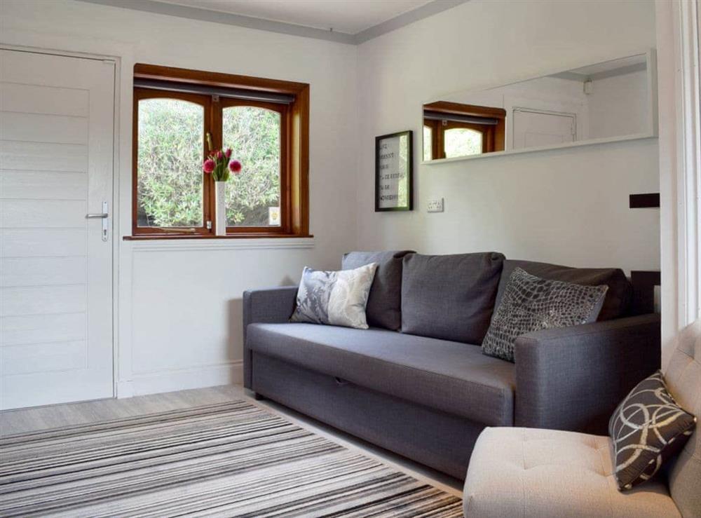 Relaxing living room at Elm Cottage in Falkirk, Stirlingshire