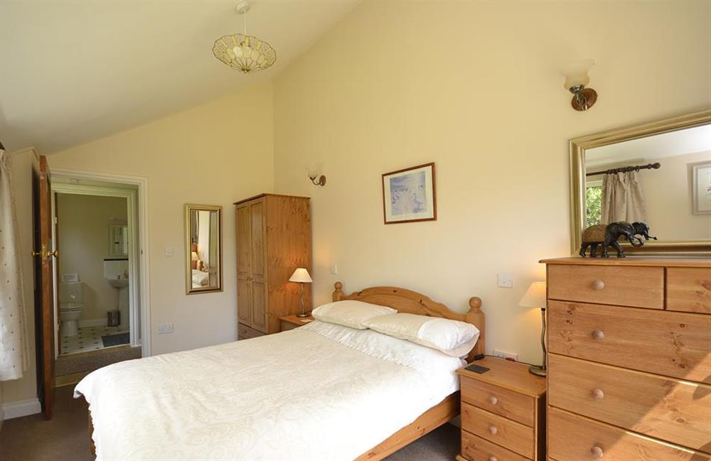 Another view of the lower double bedroom and shower room beyond at End O Moor, Shaugh Prior