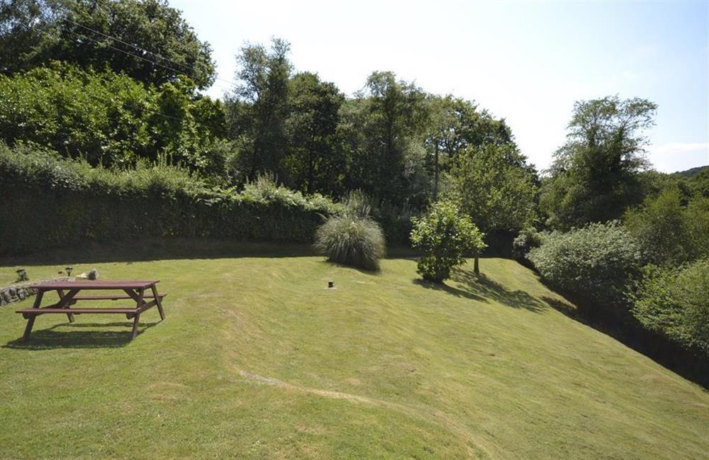 Large gardens at End O Moor, Shaugh Prior