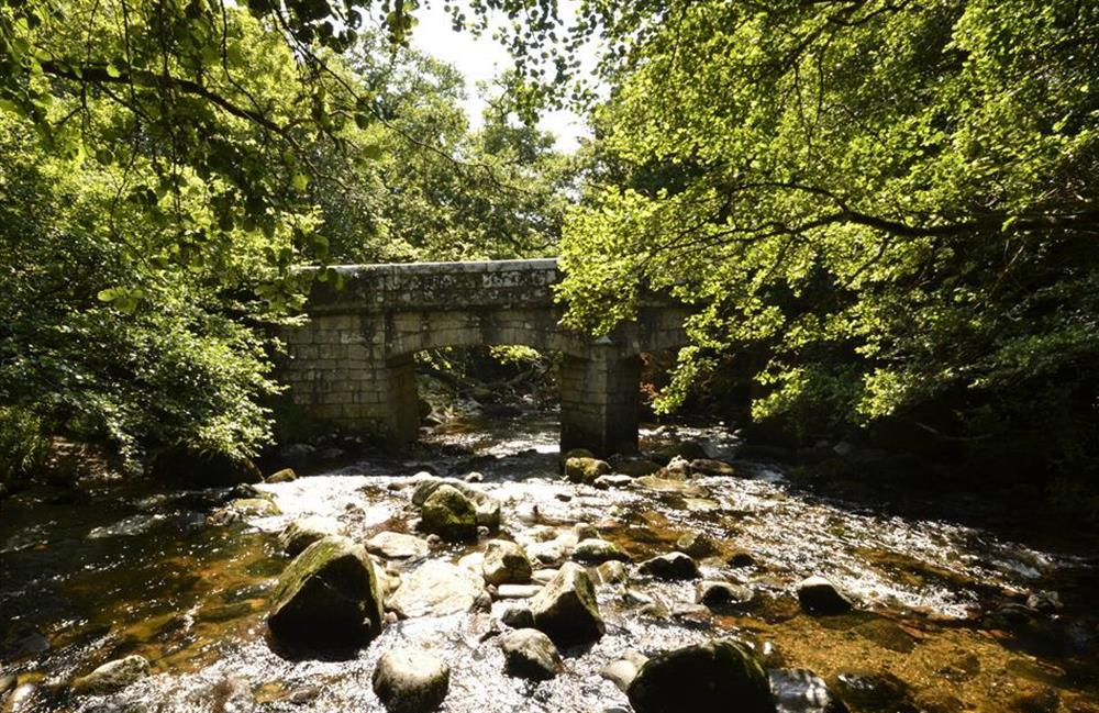 Nearby Shaugh Prior bridge at End O Moor, Shaugh Prior