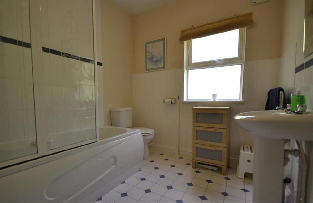 The bathroom at End O Moor, Shaugh Prior