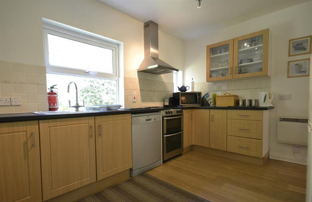The kitchen at End O Moor, Shaugh Prior