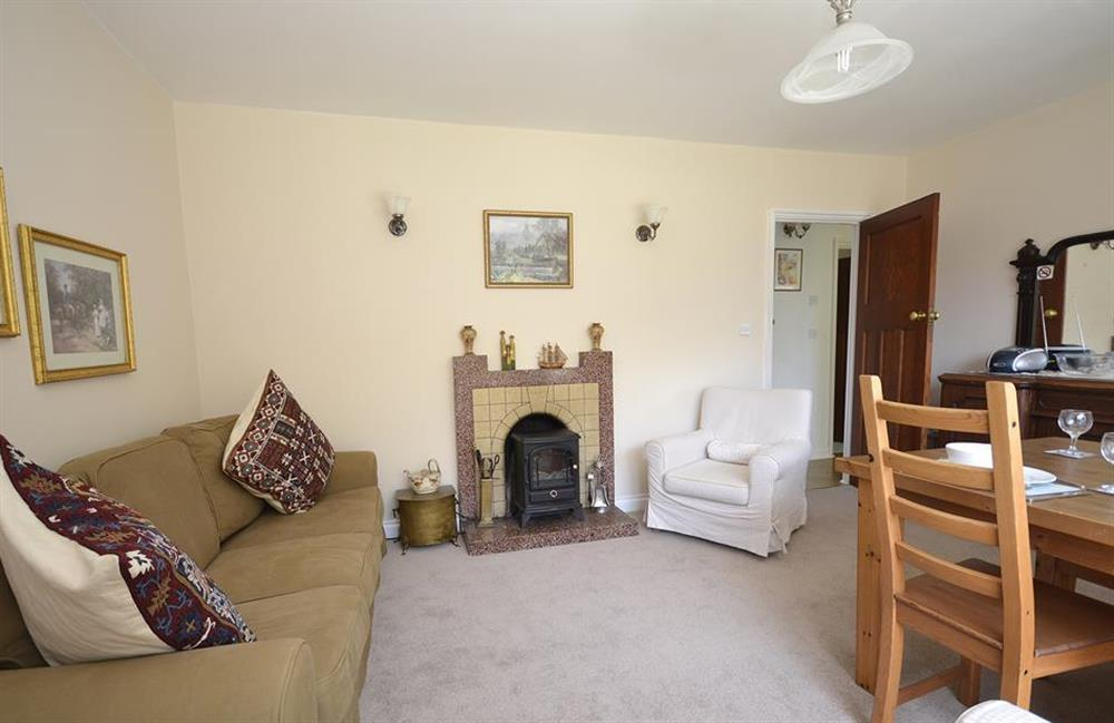 The living area at End O Moor, Shaugh Prior