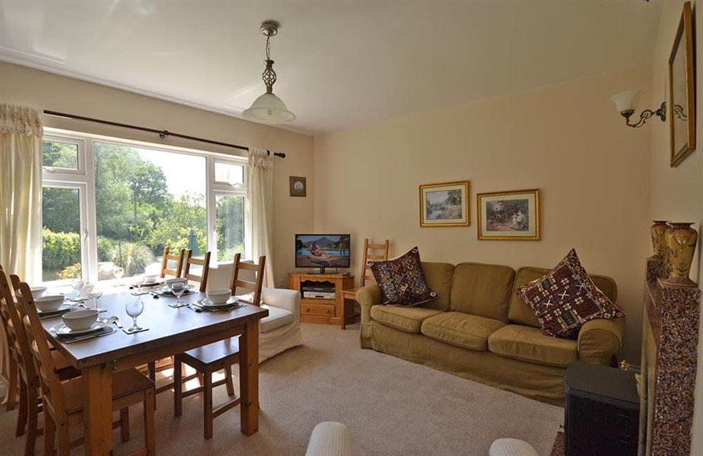 The living dining room at End O Moor, Shaugh Prior