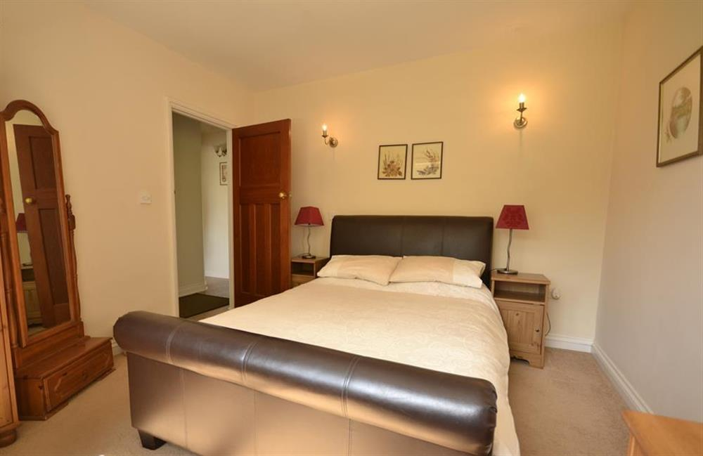 The master Double bedroom at End O Moor, Shaugh Prior