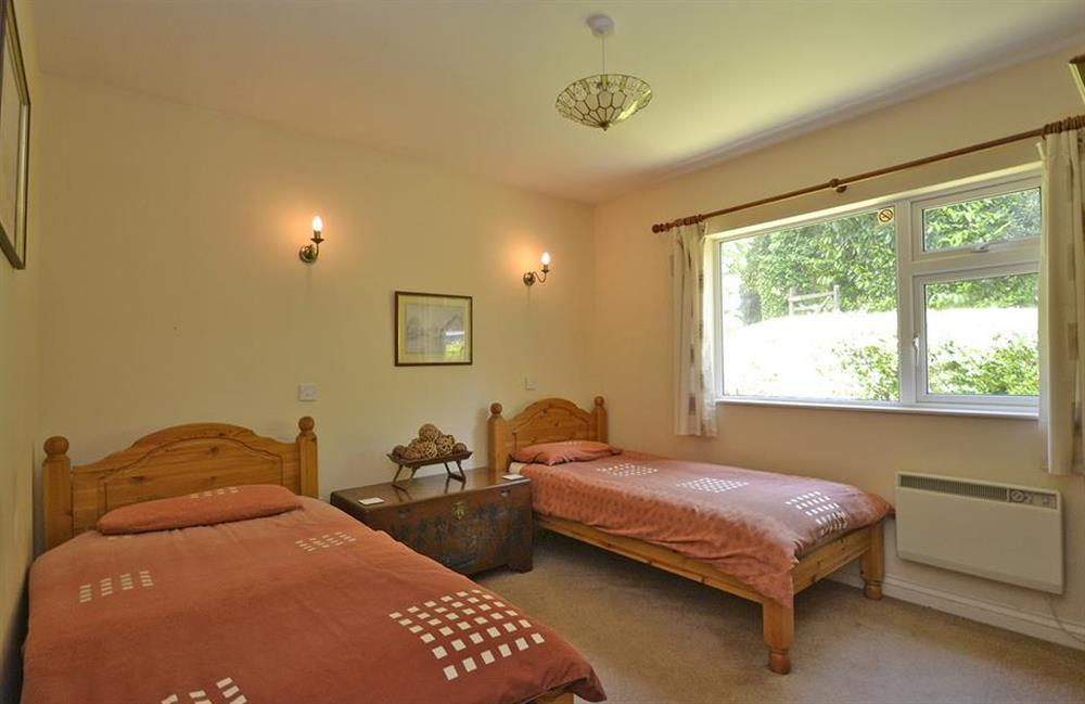 The twin bedroom at End O Moor, Shaugh Prior