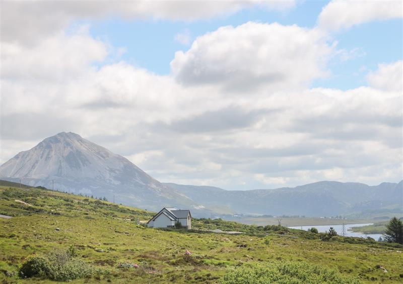The setting of Errigal View House