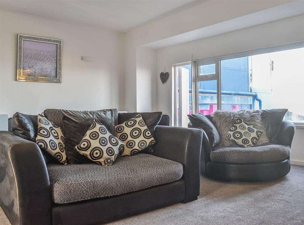 Living room at Esplanade 1 in Bridlington, North Humberside