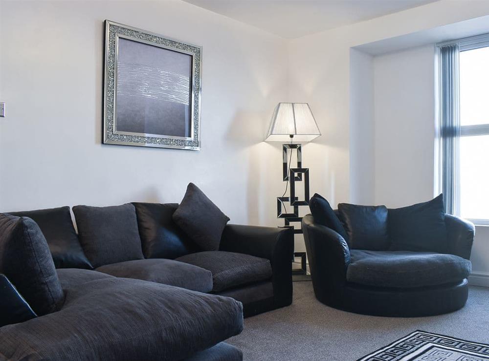 Living room at Esplanade 3 in Bridlington, North Humberside