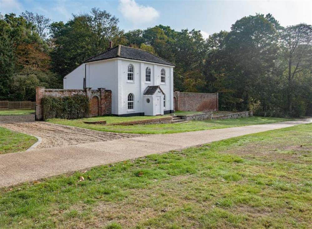 Located in lovey surroundings at Estate Cottage in Warstead, near North Walsham, Norfolk