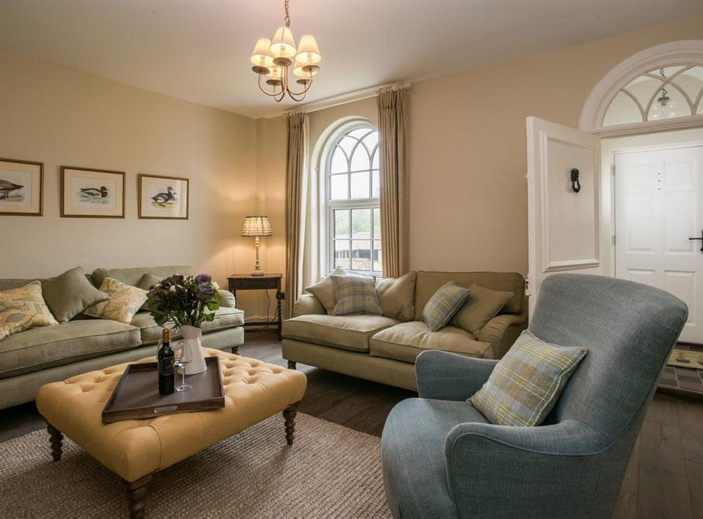 Nicely furnished living room at Estate Cottage in Warstead, near North Walsham, Norfolk