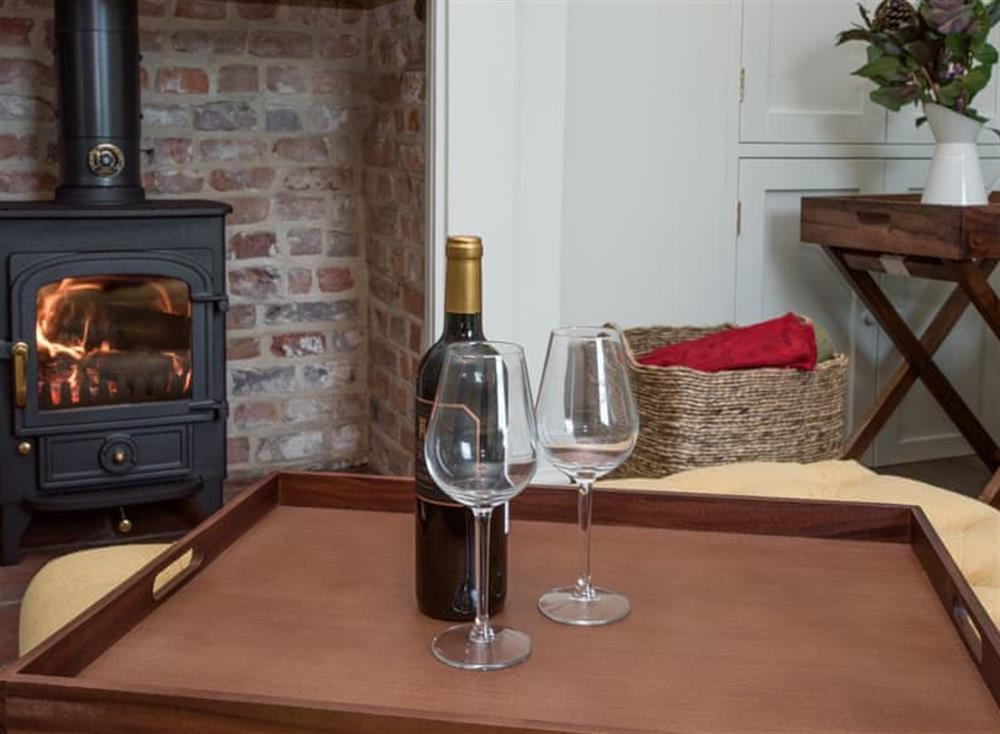 Relaxing living room at Estate Cottage in Warstead, near North Walsham, Norfolk