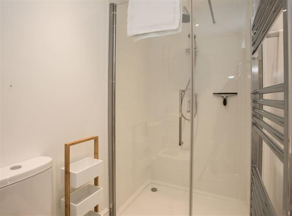 Shower room at Estate Cottage in Warstead, near North Walsham, Norfolk