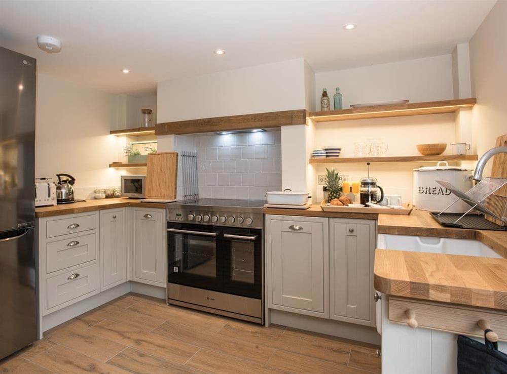 well appointed kitchen at Estate Cottage in Warstead, near North Walsham, Norfolk