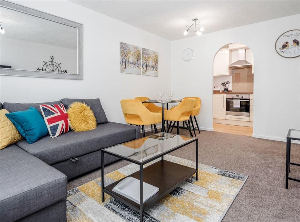 Living room/dining room at Eton House in Watford, Hertfordshire