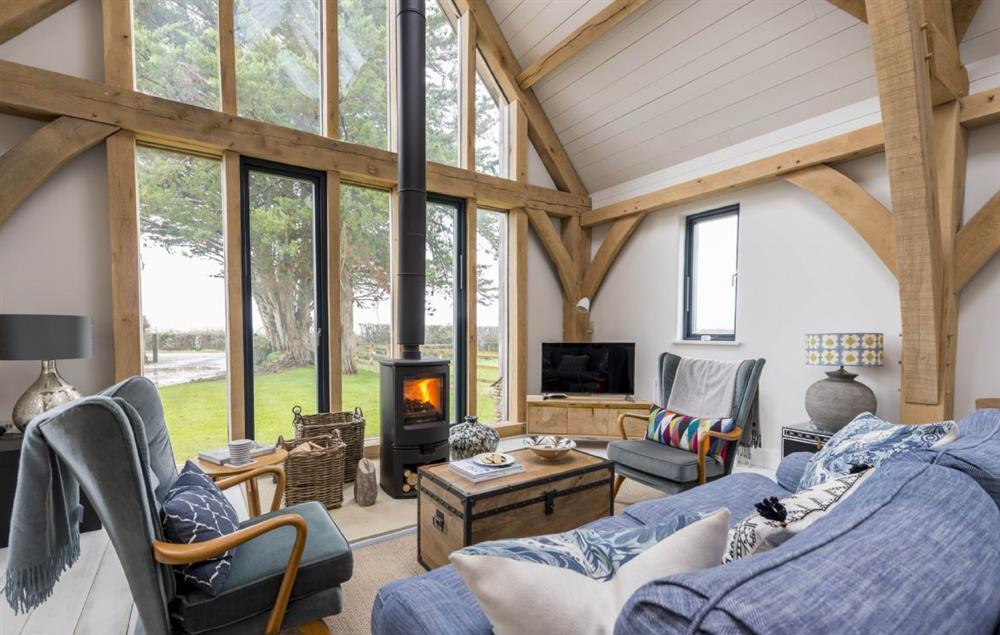 Everdene Lodge ground floor: Sitting room area