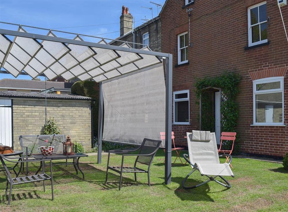 Garden at Eversfield Annexe in Lowestoft, Suffolk
