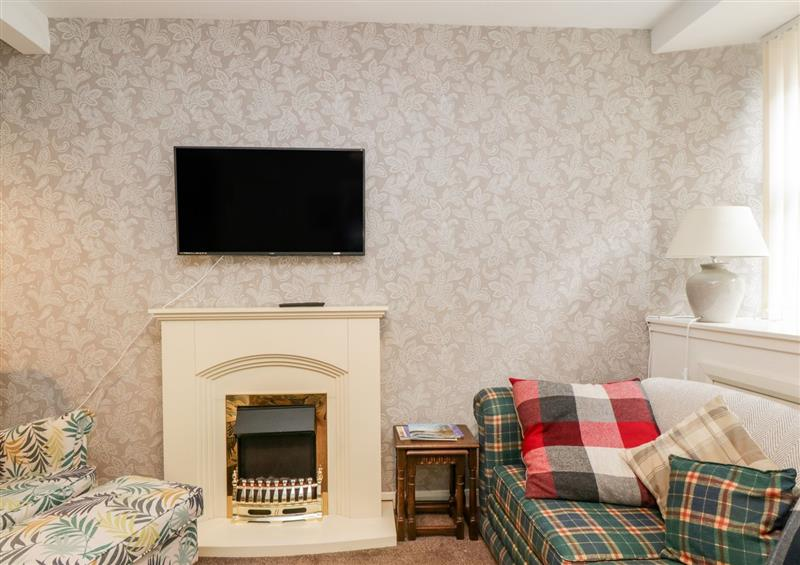 The living room at Faerie Knowe Cottage, Crieff