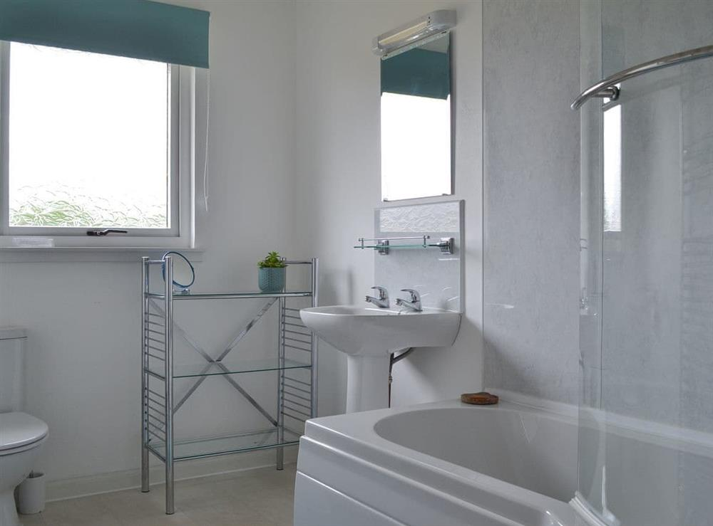 Bathroom at Fair View in Lairg, Sutherland