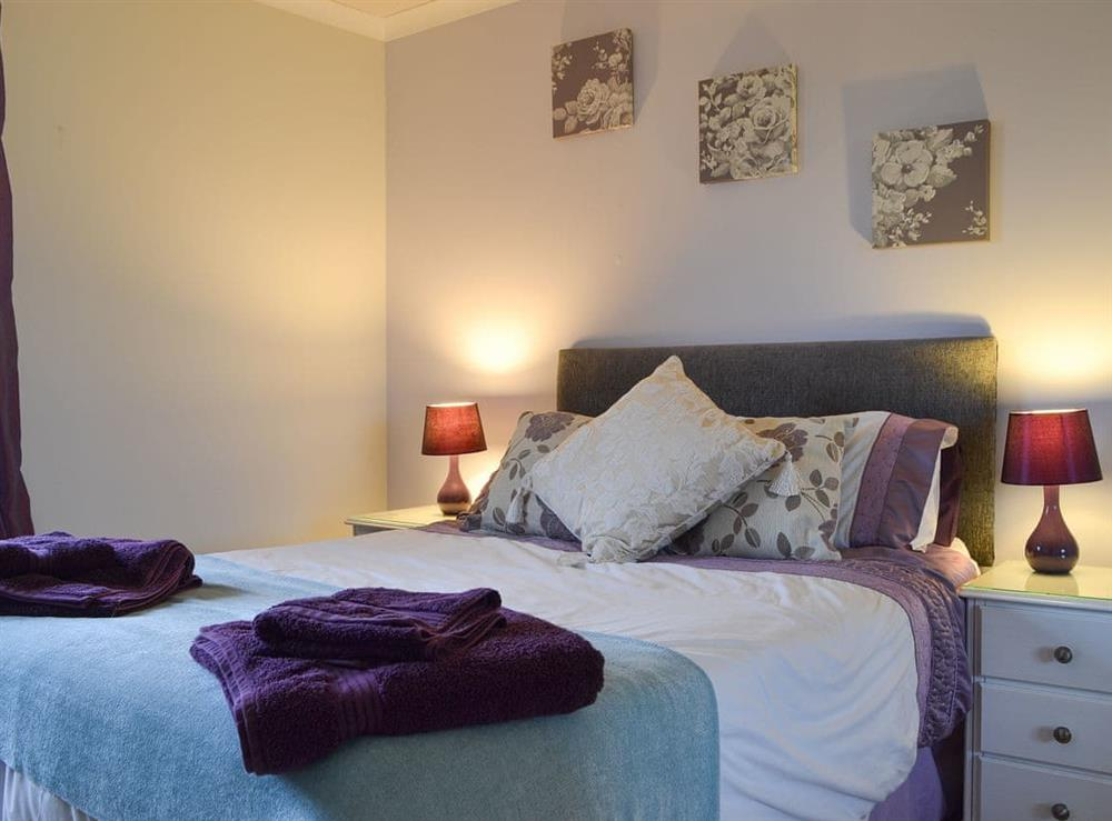Double bedroom at Fair View in Lairg, Sutherland