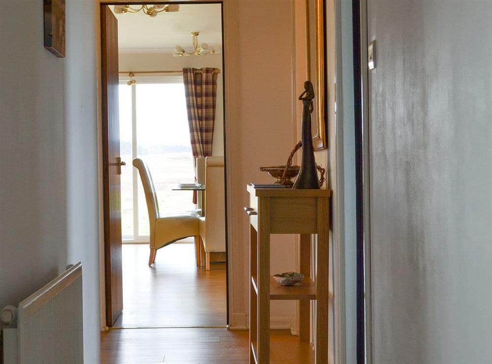 Hallway at Fair View in Lairg, Sutherland