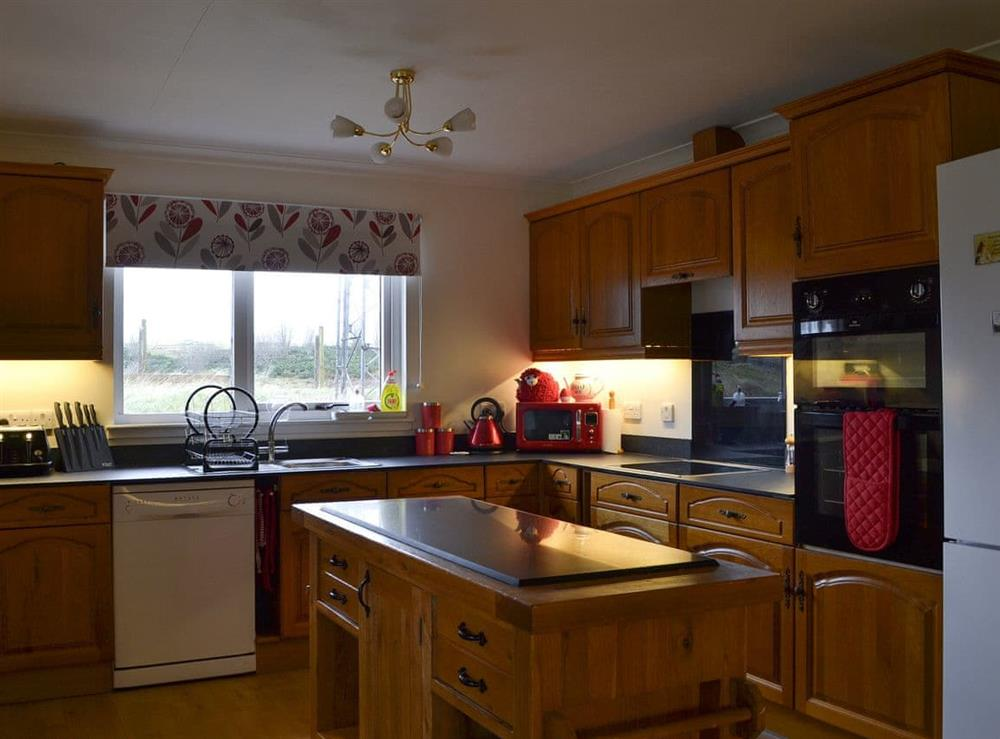 Kitchen at Fair View in Lairg, Sutherland