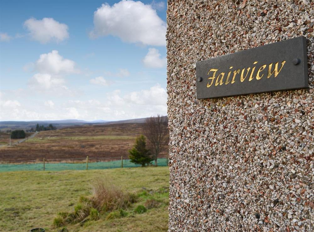 View (photo 2) at Fair View in Lairg, Sutherland
