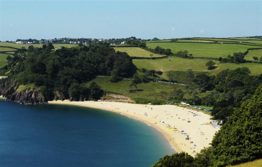 Beautiful Blackpool Sands, one mile away. at Fairholm, Stoke Fleming