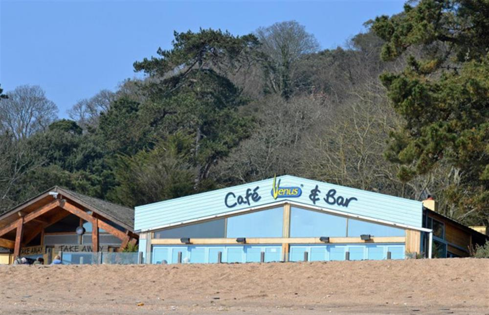 The Venus Cafe at nearby Blackpool Sands. at Fairholm, Stoke Fleming