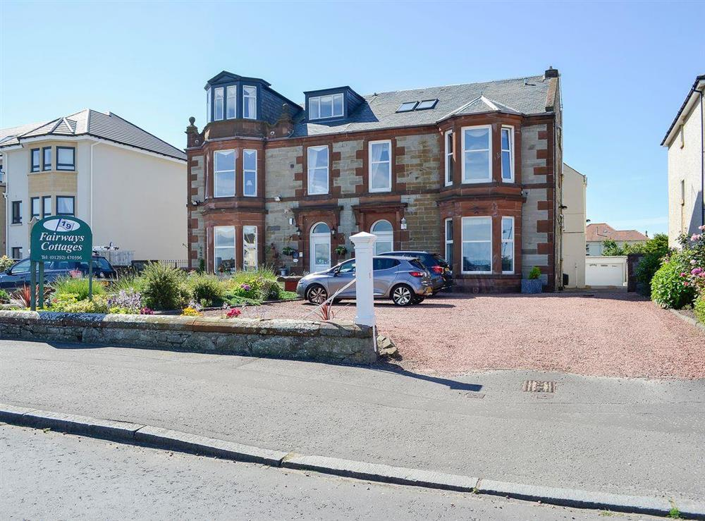 Located in the seaside town of Prestwick at Number 1,