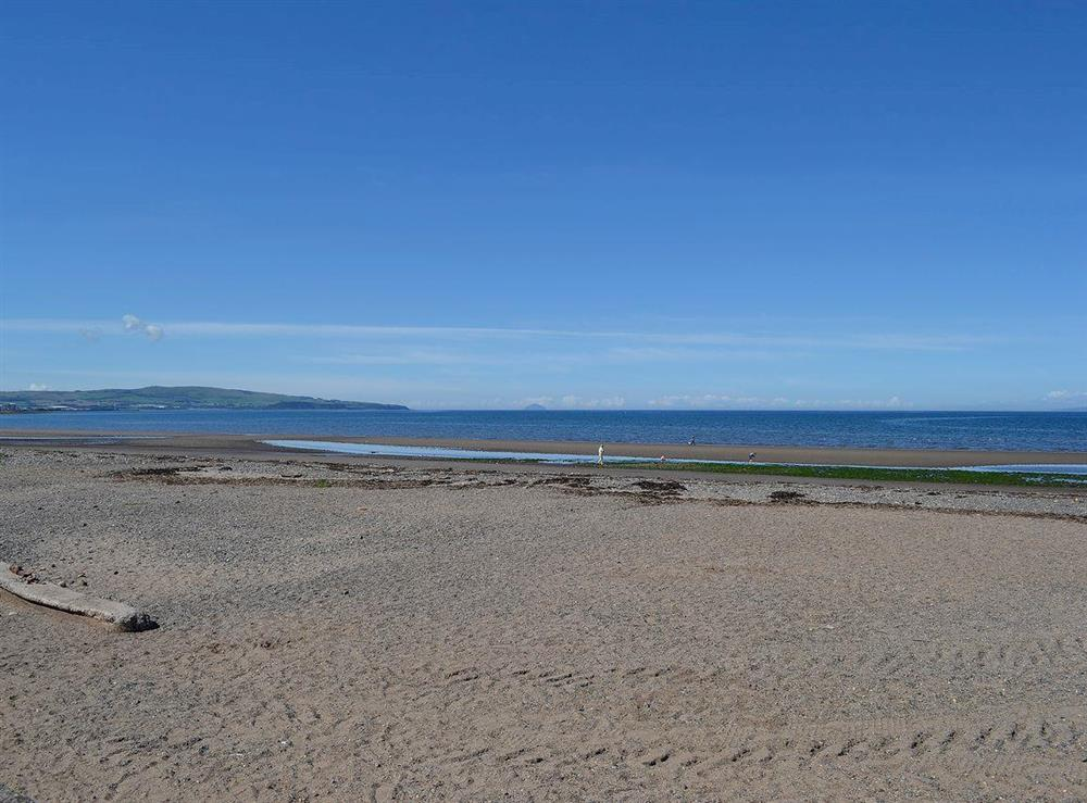 Lovely sand beach close by at Number 3,