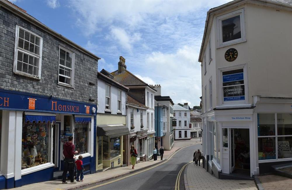 Local shops and amenities in the local town of Kingsbridge at Fairwinds, Strete