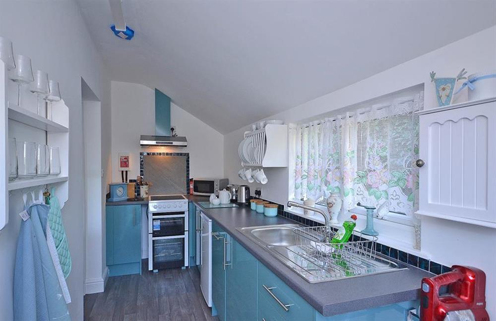 Newly fitted kitchen at Fairwinds, Strete