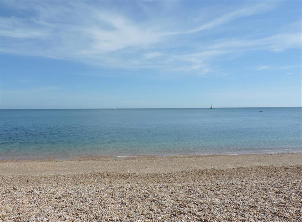 Relax Strete Gate beach a short walk on the coast path away at Fairwinds, Strete